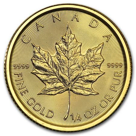 2016 Canada 1/4 oz Gold Maple Leaf BU