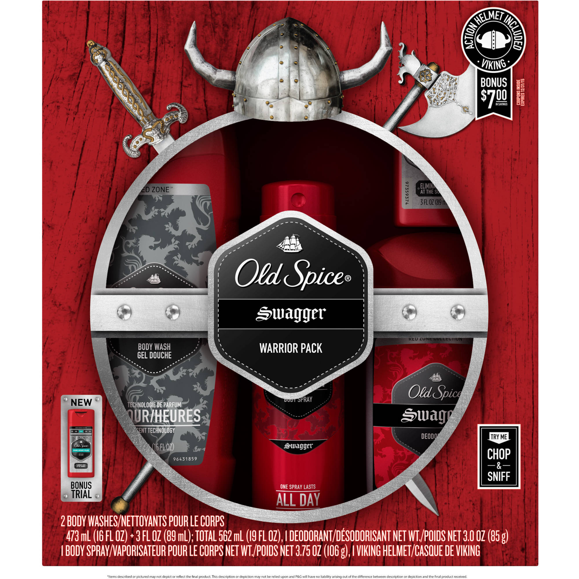 Old Spice Holiday Bath Set (Choose Your Scent)