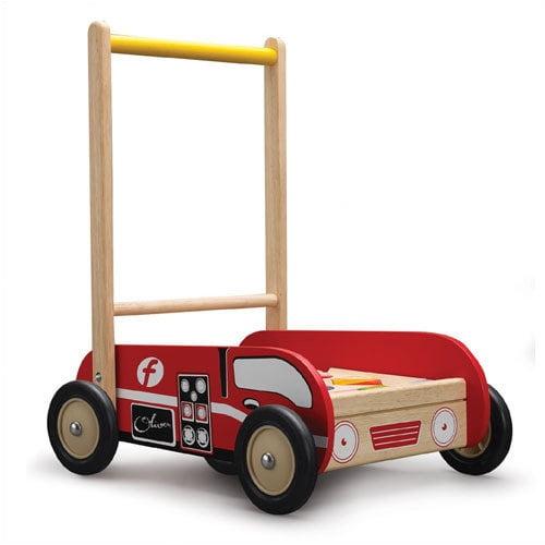 Wonderworld Fire Engine Walker Push Toy
