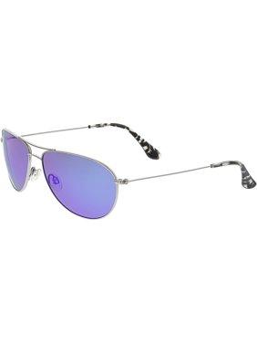 850d33c70dd Product Image Maui Jim Women s Polarized Sea House B772-17 Silver Aviator  Sunglasses