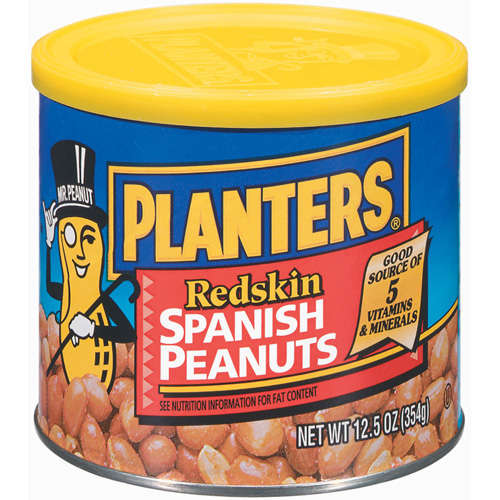 Planters: Spanish Redskin Peanuts, 12.5 Oz