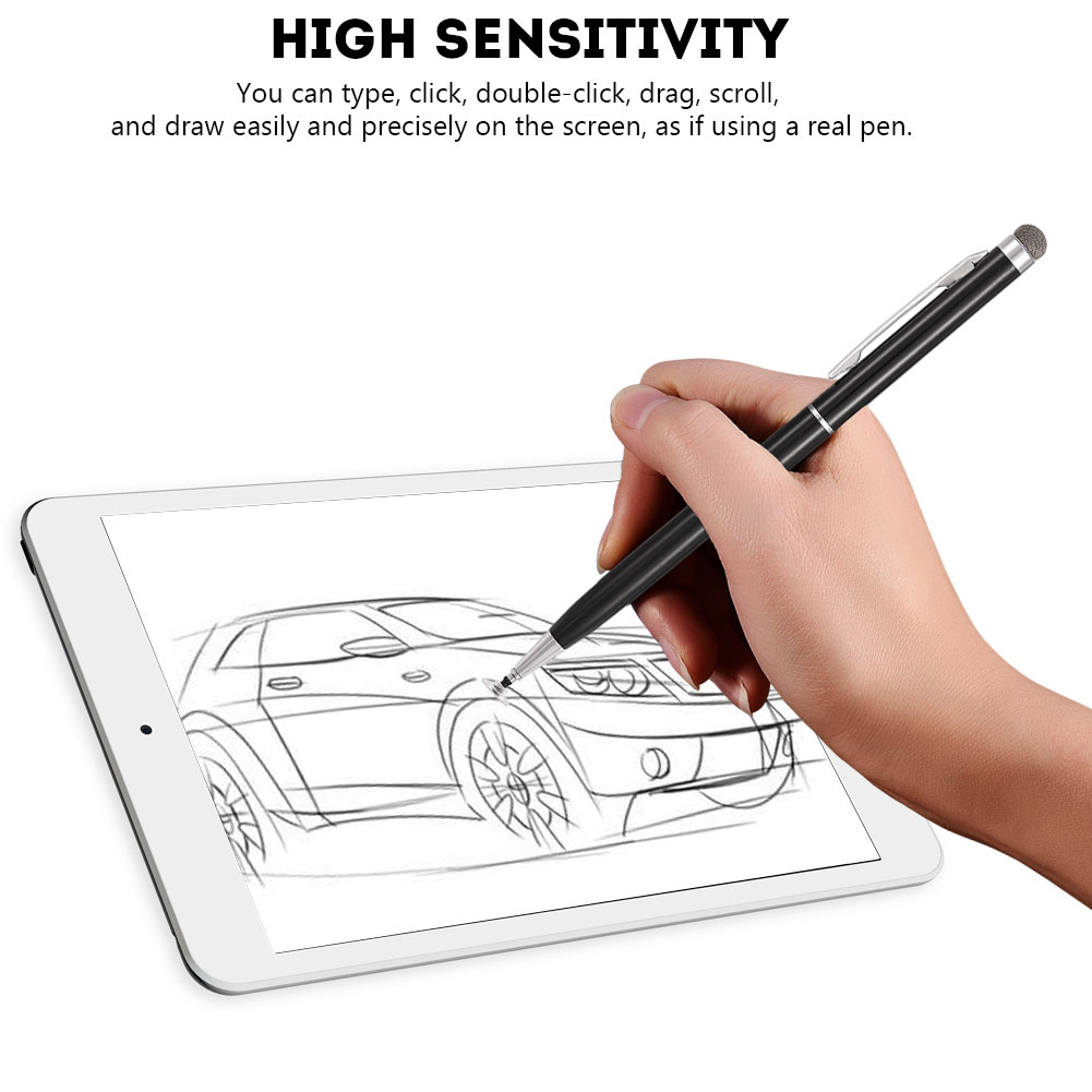 Universal Replacement Capacitive Touch Screen Stylus Pen Cloth Head for iPhone/ Samsung,Stylus, Stylus Pen for iPhone