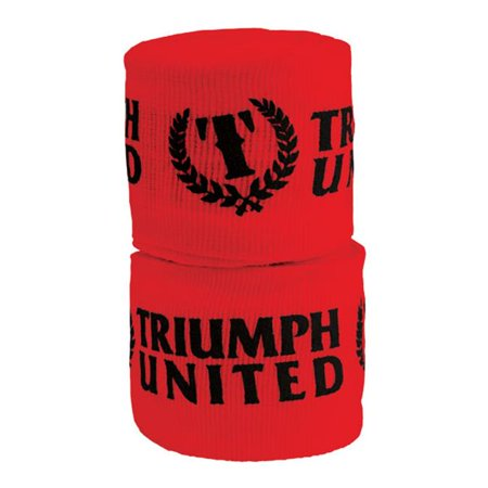 Revgear TU99001 RD Triumph United 2 Wide Printed Elastic Handwraps -