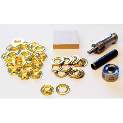 Lord and Hodge Inc. #2 Brass Handi-Grommet Kits 24 Count