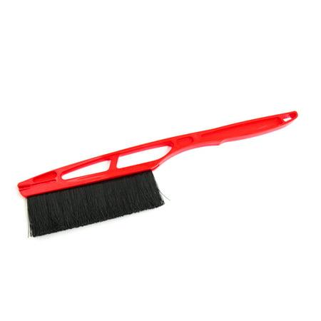 Red Plastic Handle Auto Car Windshield Window Winter Snow Ice Brush Shovel
