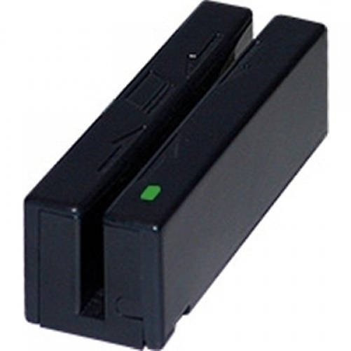 MagTek 21040136 USB 3-Track Magnetic Stripe Reader (Black)