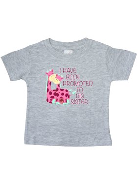 411b1bdf Product Image i have been promoted to big sister pink Baby T-Shirt