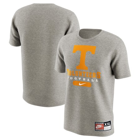 Tennessee Volunteers Nike Retro Pack T-Shirt - Heathered Gray](Tennessee Volunteers Halloween Uniforms)
