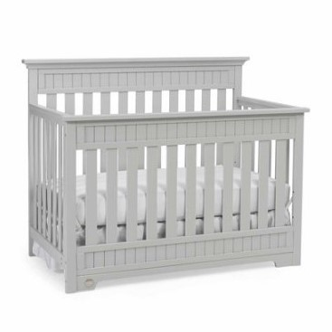 Fisher-Price Lakeland 5-in-1 Convertible Crib Gray