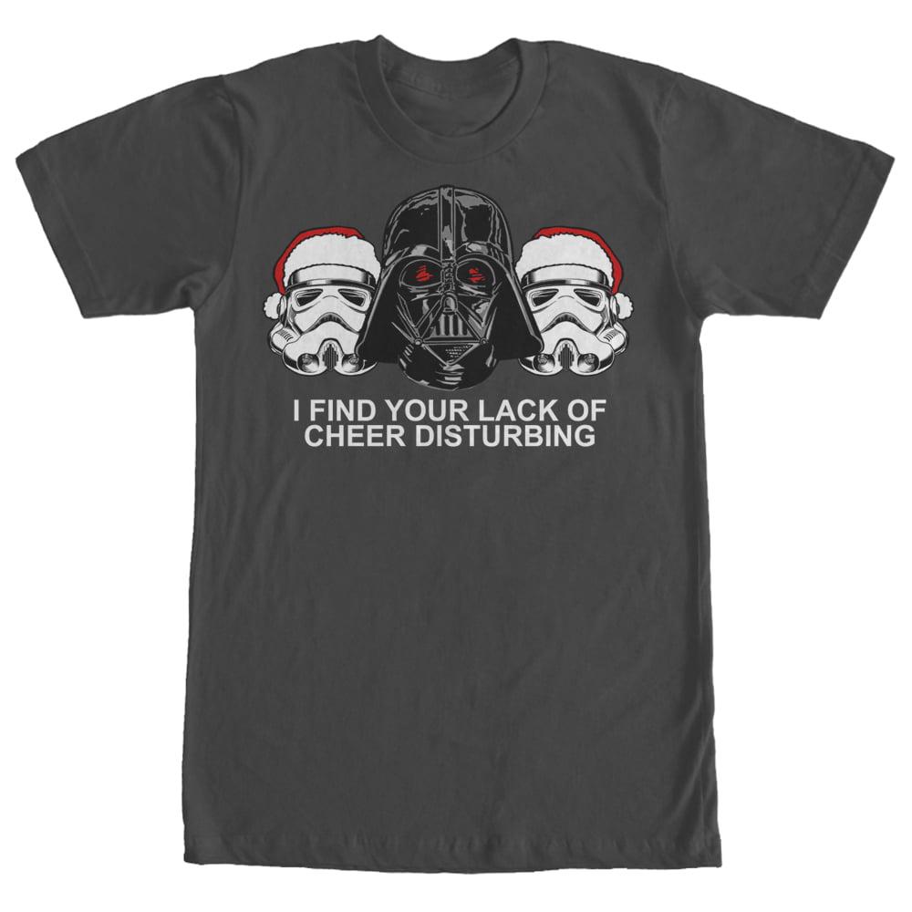 Star Wars Men's Christmas Empire Lack of Cheer T-Shirt