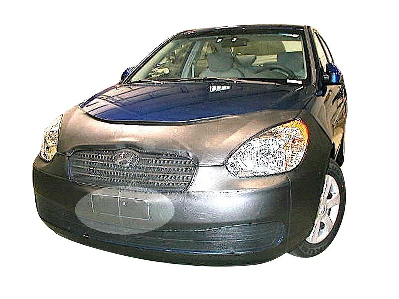 LeBra Front End Cover Hyundai Accent Black Vinyl