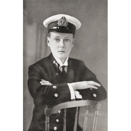 The Prince Of Wales Later King Edward Viii As A Midshipman In 1910 Edward Viii Edward Albert Christian George Andrew Patrick David Later The Duke Of Windsor 1894 Canvas Art - Ken Welsh Design Pics (2