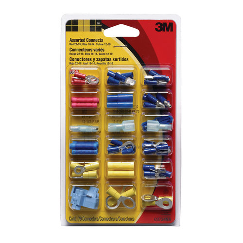 3M Electrical Connectors, 79 pieces by 3M