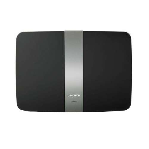 Linksys EA4500 Wireless Router - WiFi, Dual Band, 2.4GHZ and 5GHz Up to 450 + 450Mbps, 4 Gigabit Ethernet Ports, USB, WP