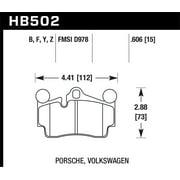 Hawk 2007-2014 Audi Q7 Premium HPS 5.0 Rear Brake Pads