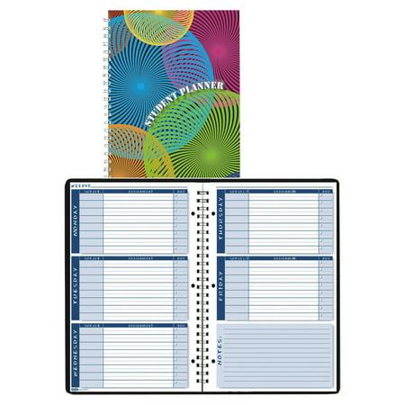 Assignment Notebooks (House of Doolittle Nondated Assignment Book For Intermediate Grades, 7 x 11, Blue/White Pages )