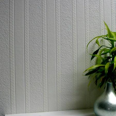- Brewster Blarney Marble Stripe Paintable Textured Vinyl Wallpaper