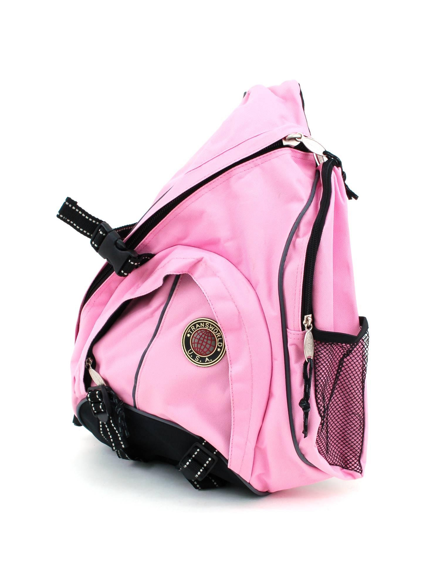 Backpack Messenger Bag Cross Body Organizer Single Strap Sling Shoulder Carryall by Transworld