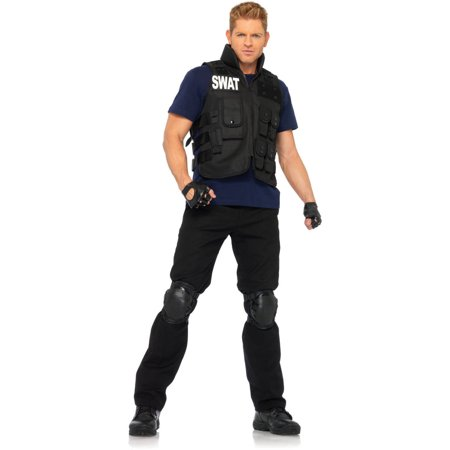 Leg Avenue SWAT Commander Adult Halloween Costume - Cobra Commander Halloween Costume