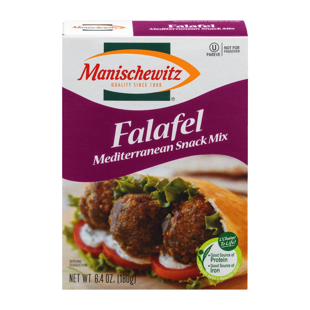 Manischewitz Falafel Mediterranean Snack Mix, 6.4 OZ