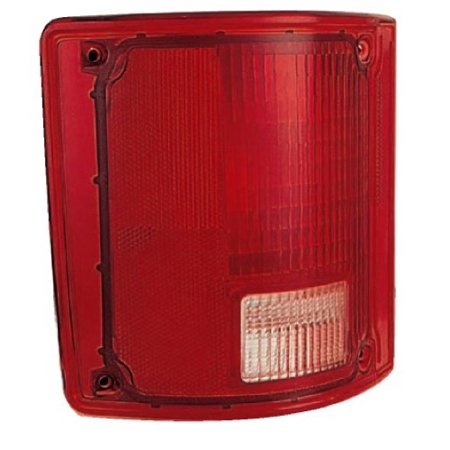 Go-Parts » 1975 - 1978 GMC C35 Tail Light Lens - Left (Driver) Side 5965775 GM2808111 Replacement For GMC C35