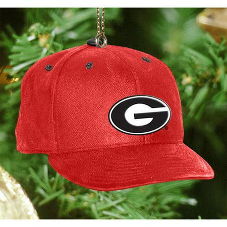 d7ef22b80ab NCAA   045  Georgia Bulldogs Baseball Cap Ornament - Walmart.com
