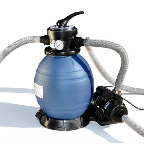 "Sand Master 71225 Above Ground Swimming Pool 12"" Sand Filter with Pump for Intex"