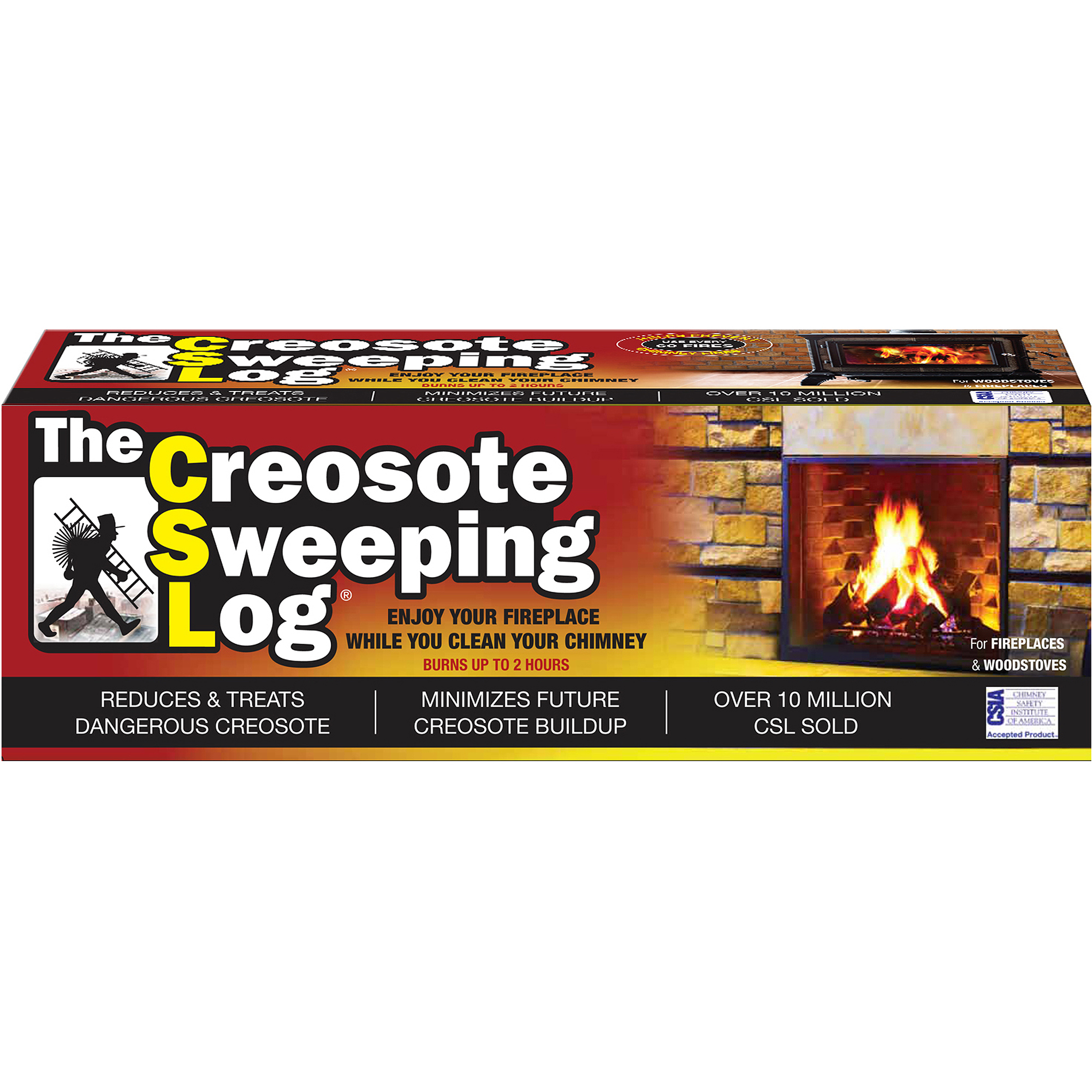 As Seen on TV CSL Creosote Sweeping Log