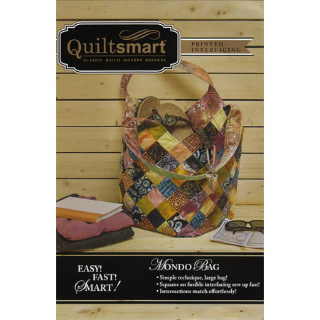 Mondo Bag Fun Pack Pattern and Printed Interfacing by Quiltsmart