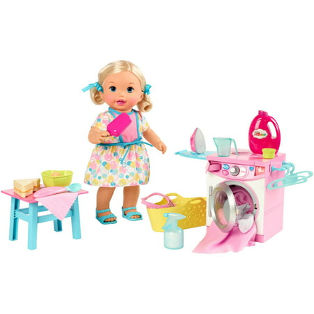 Little Mommy Lunch & Laundry Baby Storytelling Playset for $<!---->