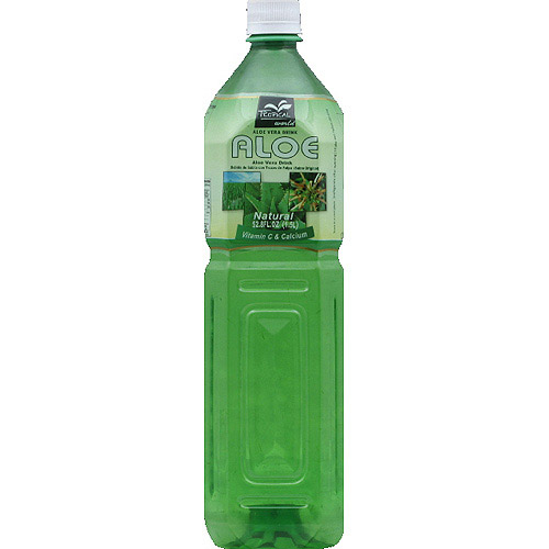 Tropical World Natural Aloe Vera Drink, 52.8 fl oz, (Pack of 12)