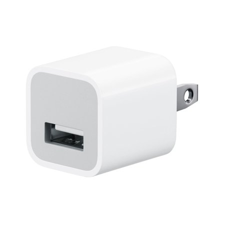Apple A1385 OEM Authentic USB Wall Charger for iPhone, iPad - Bulk Packaging ()