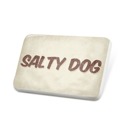 Porcelein Pin Salty Dog Cocktail, Vintage style Lapel Badge – NEONBLOND](Salty Dog Cocktail)