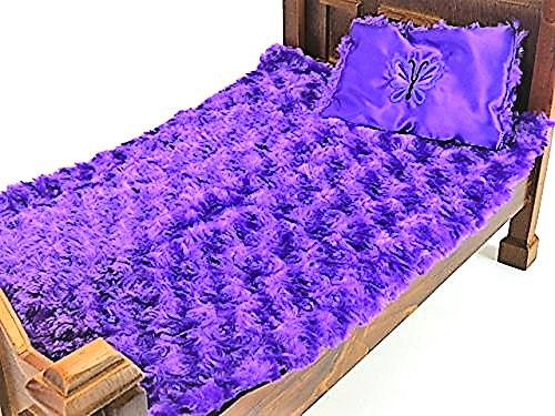 18 Inch Doll Clothes Purple Butterfly Bed Set- American Girl *DOLL AND BED IS NOT... by