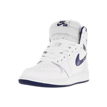3713b6ea8f2 Nike Jordan Kids Air Jordan 1 Retro High Og BG Basketball Shoe - Walmart.com