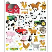 Multicolored Stickers-The Farm