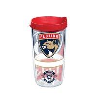 NHL Florida Panthers Topshelf 16 oz Tumbler with lid