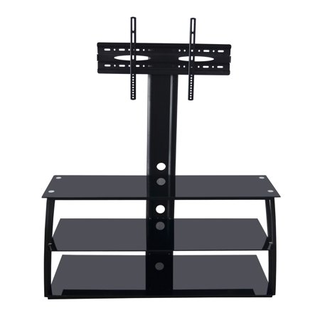 Adba Tv Stand Entertainment Center With Mount Holds Upto 70 Inch Screens Vesa 100x100 To
