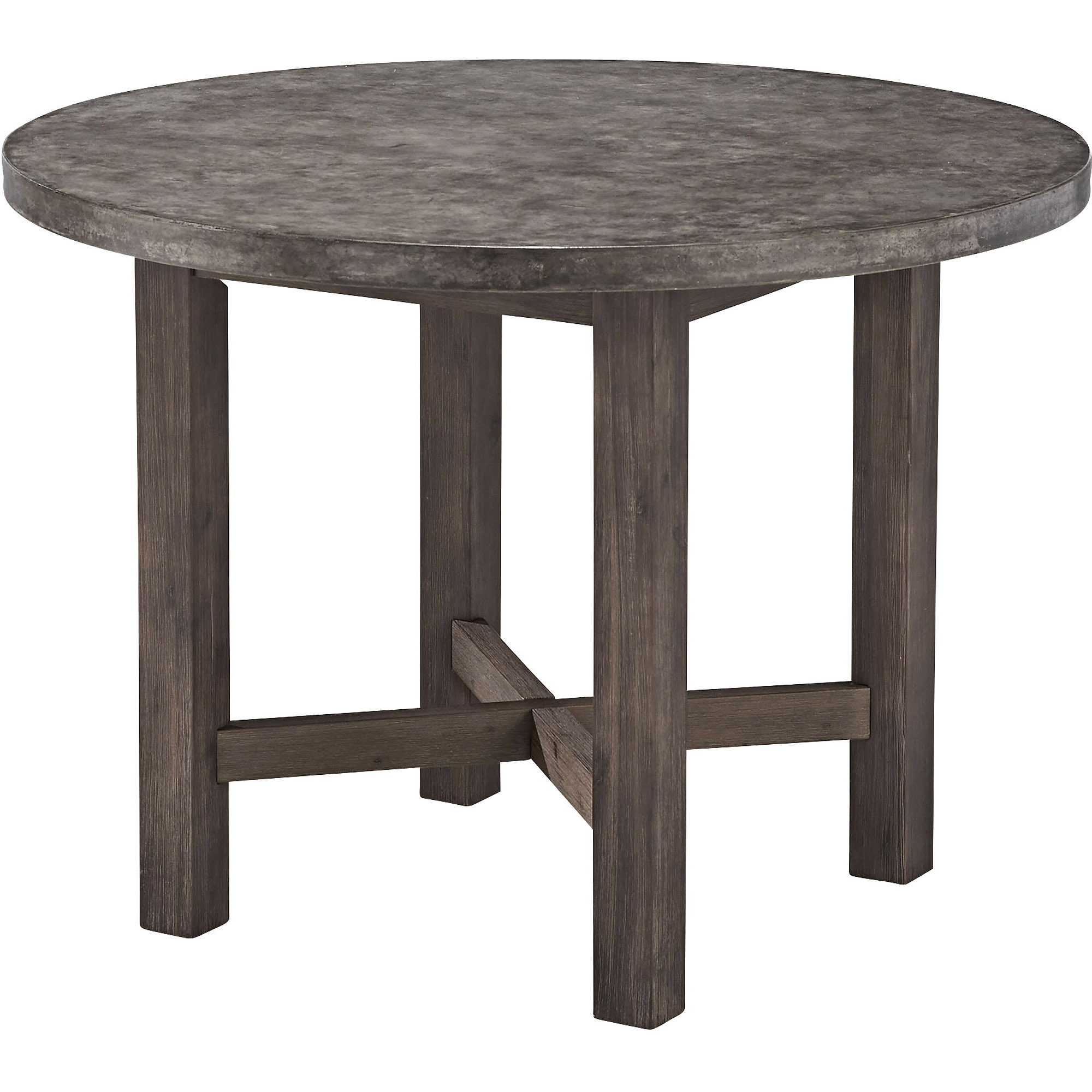 Concrete Chic Round Dining Table