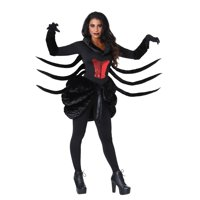 Women's Plus Size Black Widow Costume