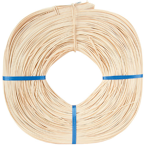 Commonwealth Basket Round Reed #3 2-1/4mm 1-Pound Coil, Approximately 750-Feet Multi-Colored