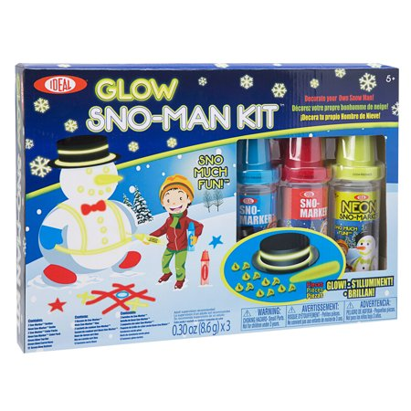 Ideal Sno Toys Glow Sno Man Kit](Man Craft)
