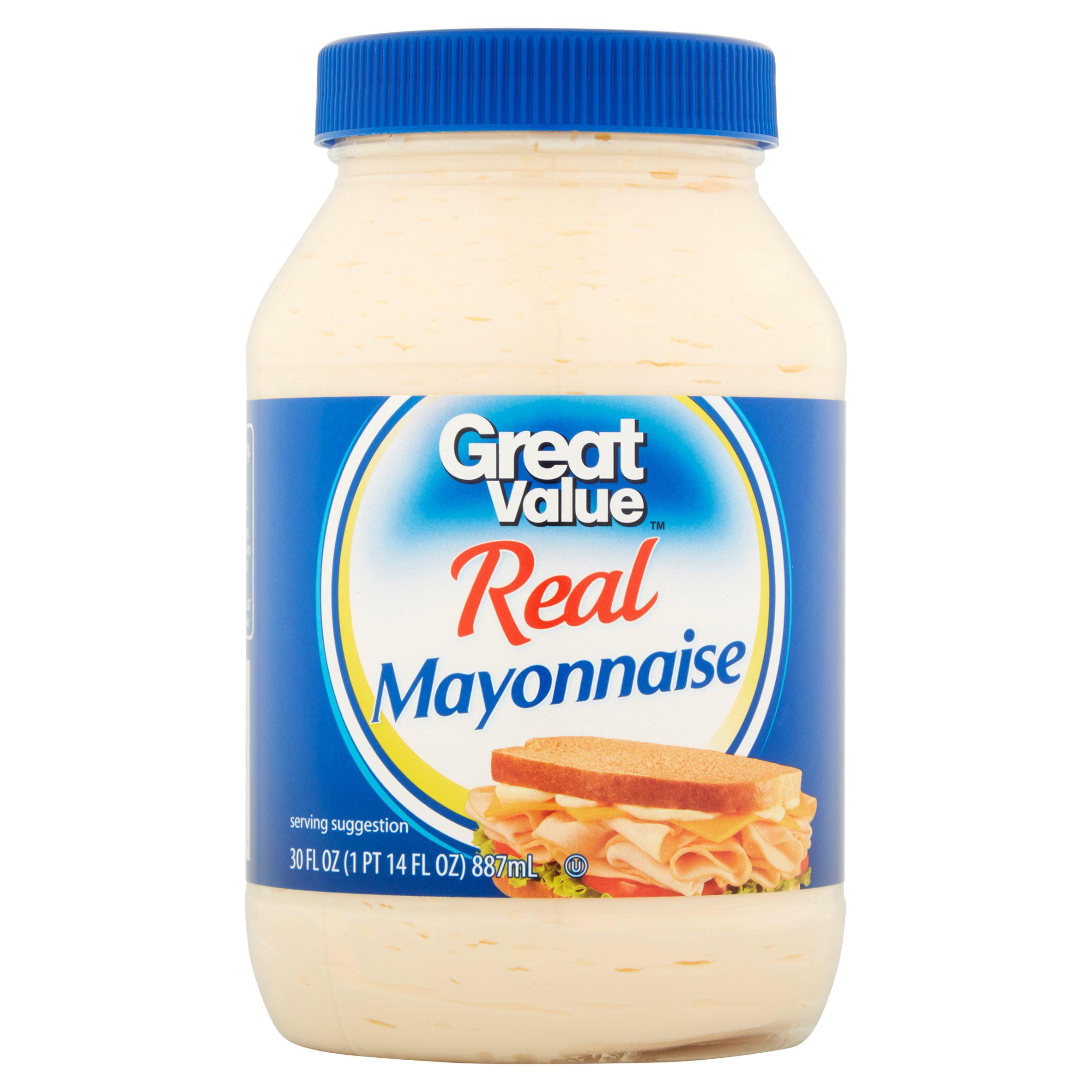 Great Value Real Mayonnaise, 30 fl oz