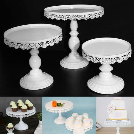 - Meigar Cake Cupcake Stand Dessert Holder ,Round Metal Wedding Cake Party Fruit Dessert Cupcake Pedestal Display
