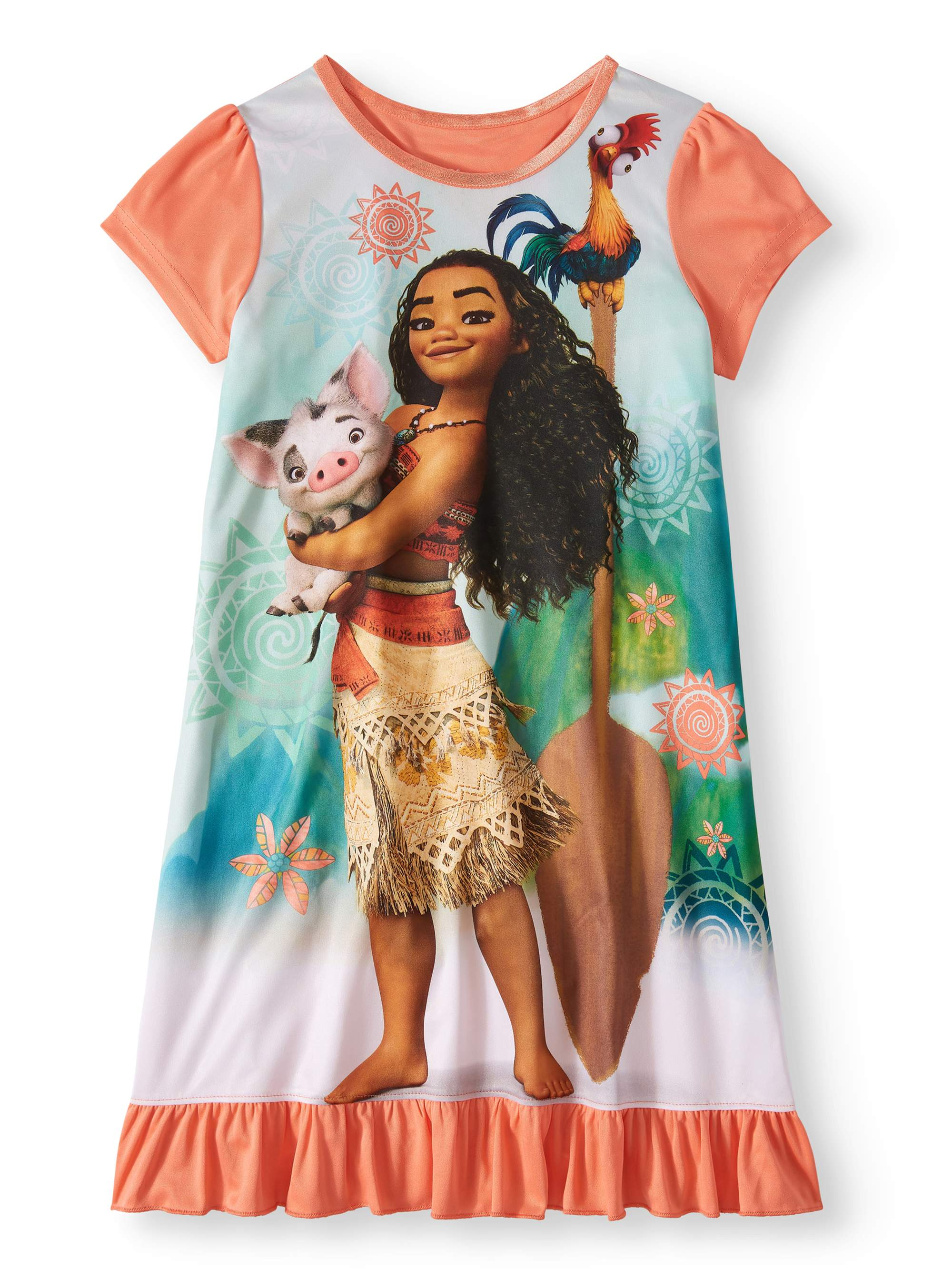 Girls' Moana Pajama Nightgown