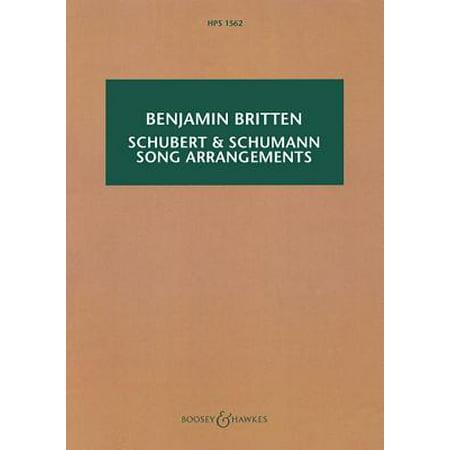 Schubert & Schumann Song Arrangements : For Chamber Orchestra