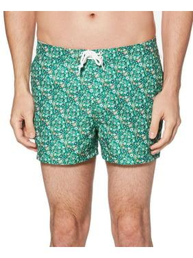 Mens Swimwear 32 Trunks Floral-Print 32