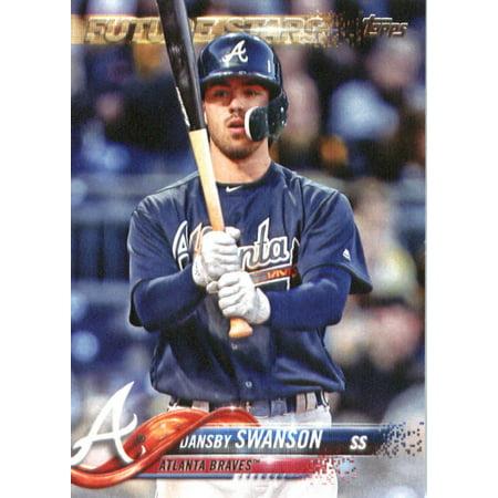 2018 Topps 167 Dansby Swanson Atlanta Braves Baseball Card