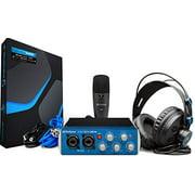 PreSonus AudioBox 96 Studio USB 2.0 Recording Bundle with Interface, Headphones, Microphone and Studio One Artist and Ableton Live Lite DAW Recording Software
