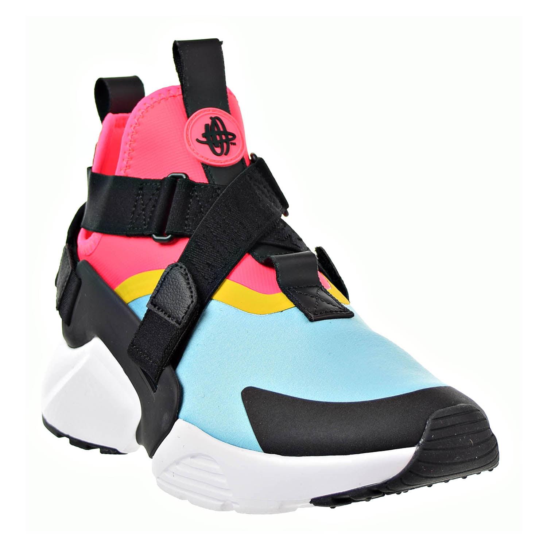 Nike Air Huarache City Women's Shoes Bleached Aqua/ Black/Racer Pink ah6787-400